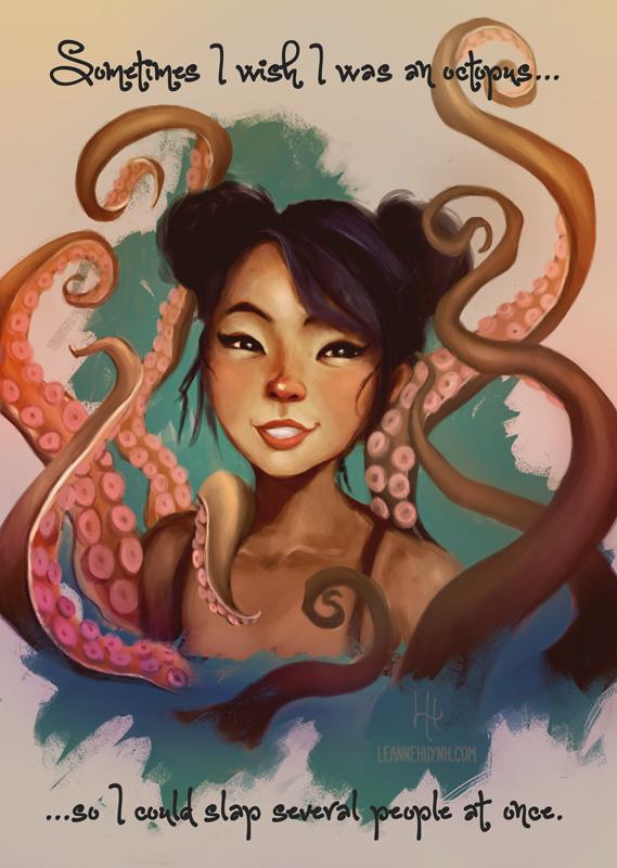 Octopus Selfie by faedri