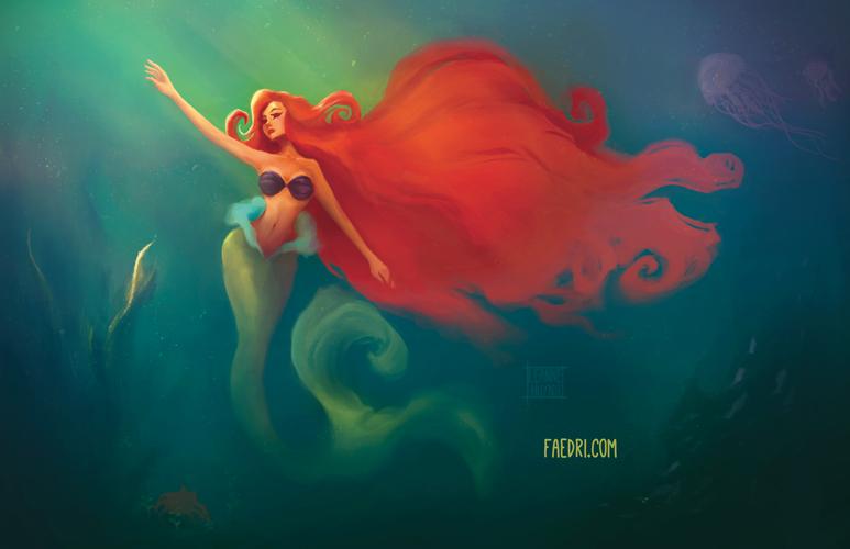 The Little Mermaid by faedri on DeviantArt