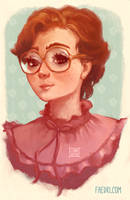 Barb from Stranger Things by faedri