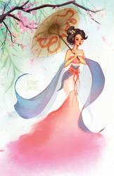 Mulan by faedri