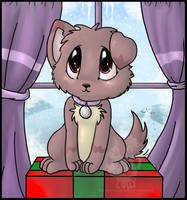 Too cute for Wrapping by Christmaslolly