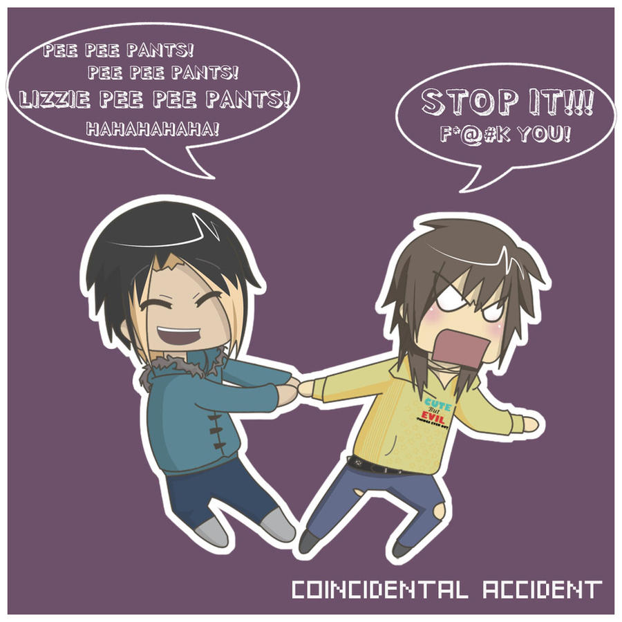 anime pee pants