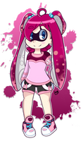 Azalea The Inkling 2015 by TechnoGamerSpriter