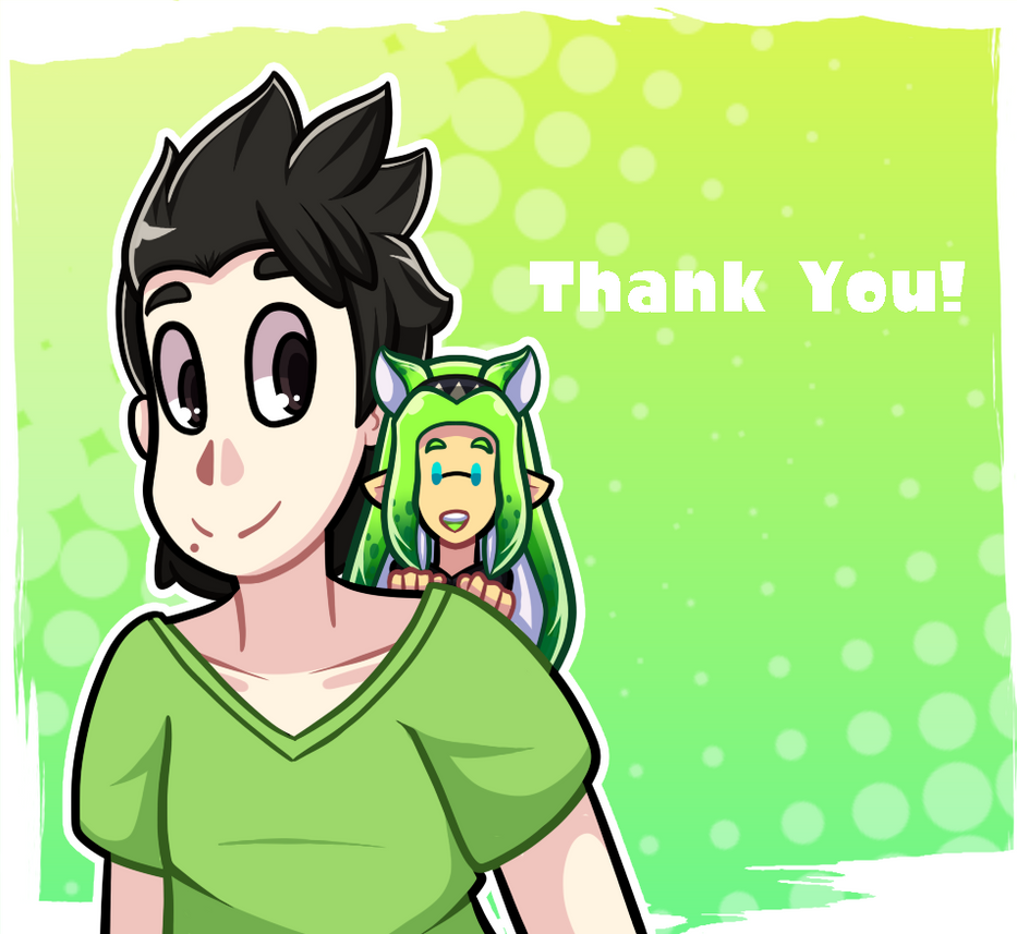 Thank You by TechnoGamerSpriter