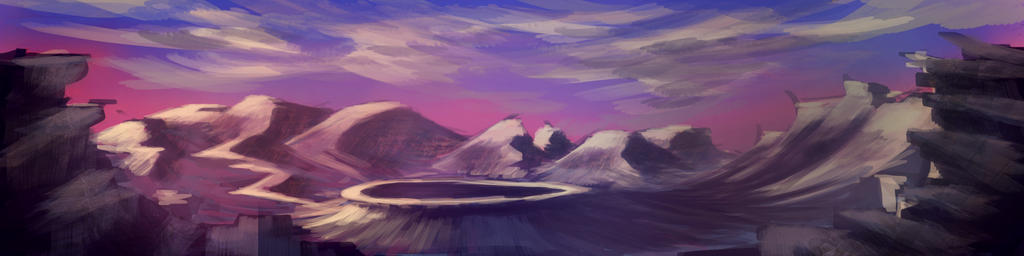 Landscape Practice 2 by copperfly