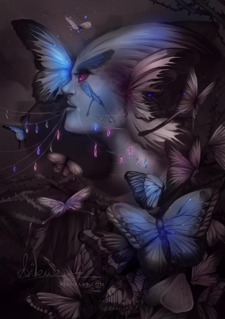 Butterflies by aianeart