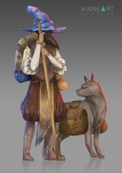 Original Character Design: Doctor