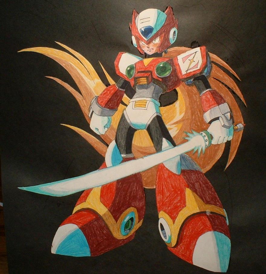 Zero the Maverick Hunter by DarkSerena