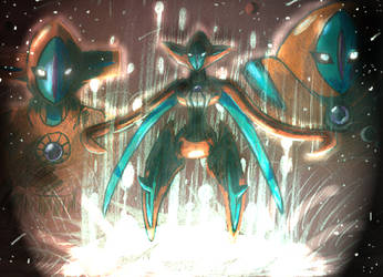 Destiny Deoxys - Revised by DarkSerena