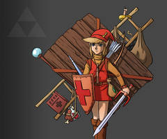 Zelda 1 Endgame by Spookyspoots