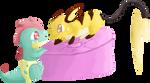 Croconaw and Raichu