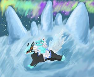 Ice by AlchemiEvil