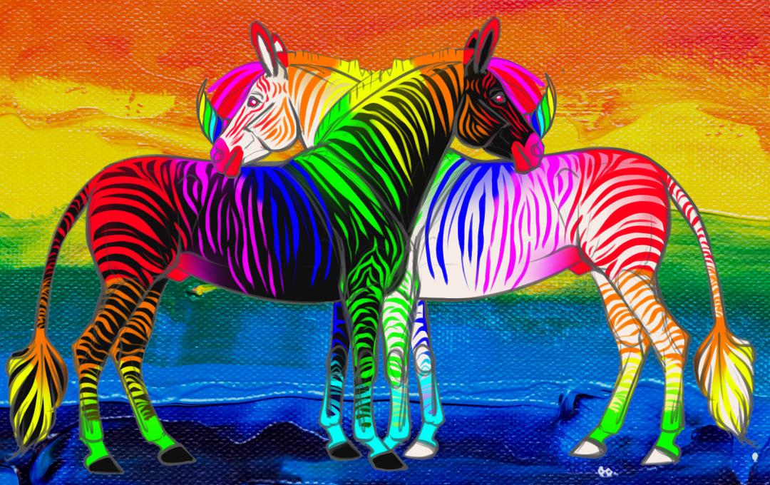 .: Junicorn Day1: Zebra :.
