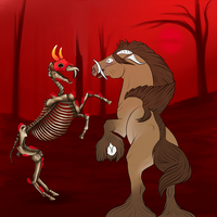 .: Fight The Dead :. [EB Miniprompt: Bones]