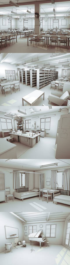 Backgrounds - Interiors
