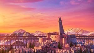 Sunset Castle