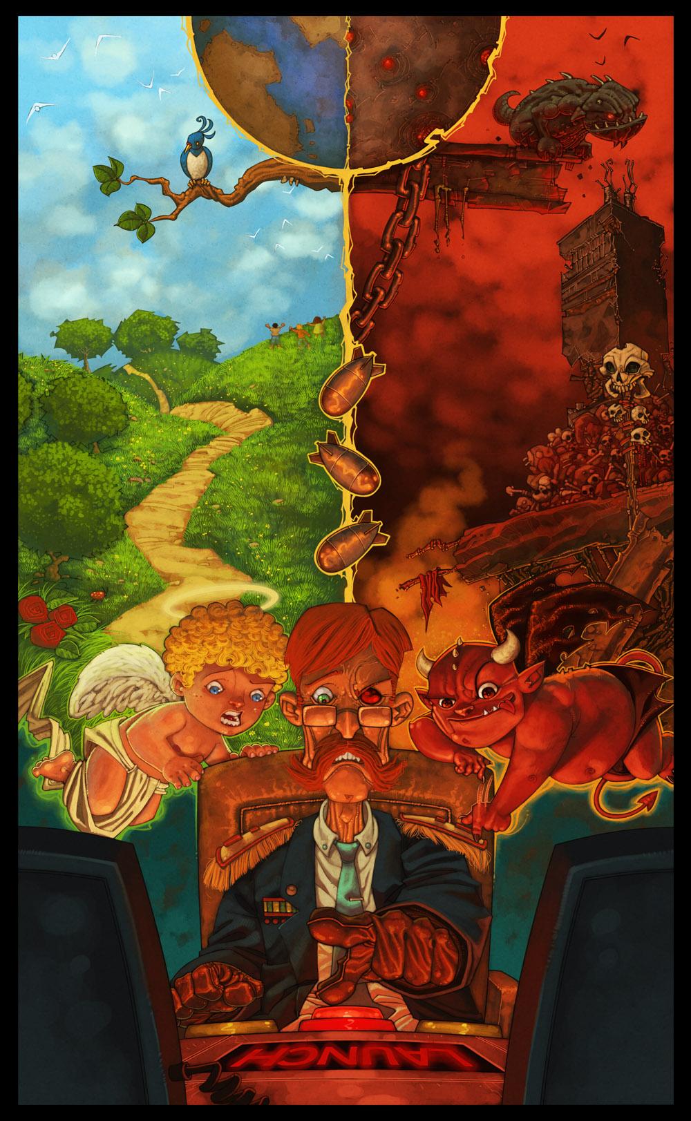 Good Vs Evil by RoloMallada
