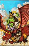 Shrek Free Comic BD Cover