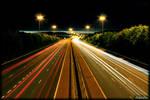 Belfast Motorway Long Exposure