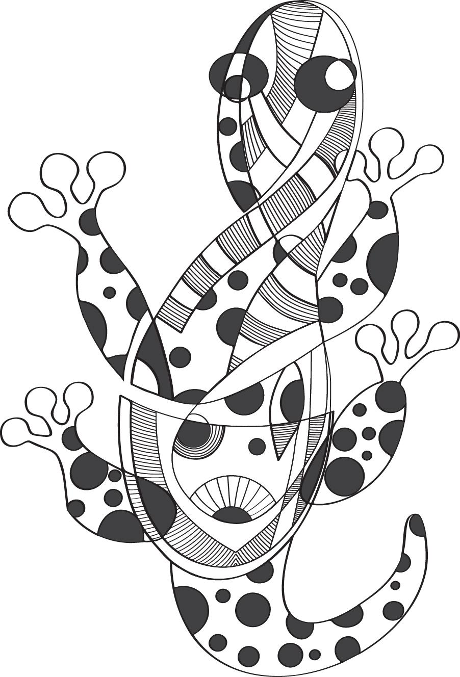 The Lizard by zlajonja