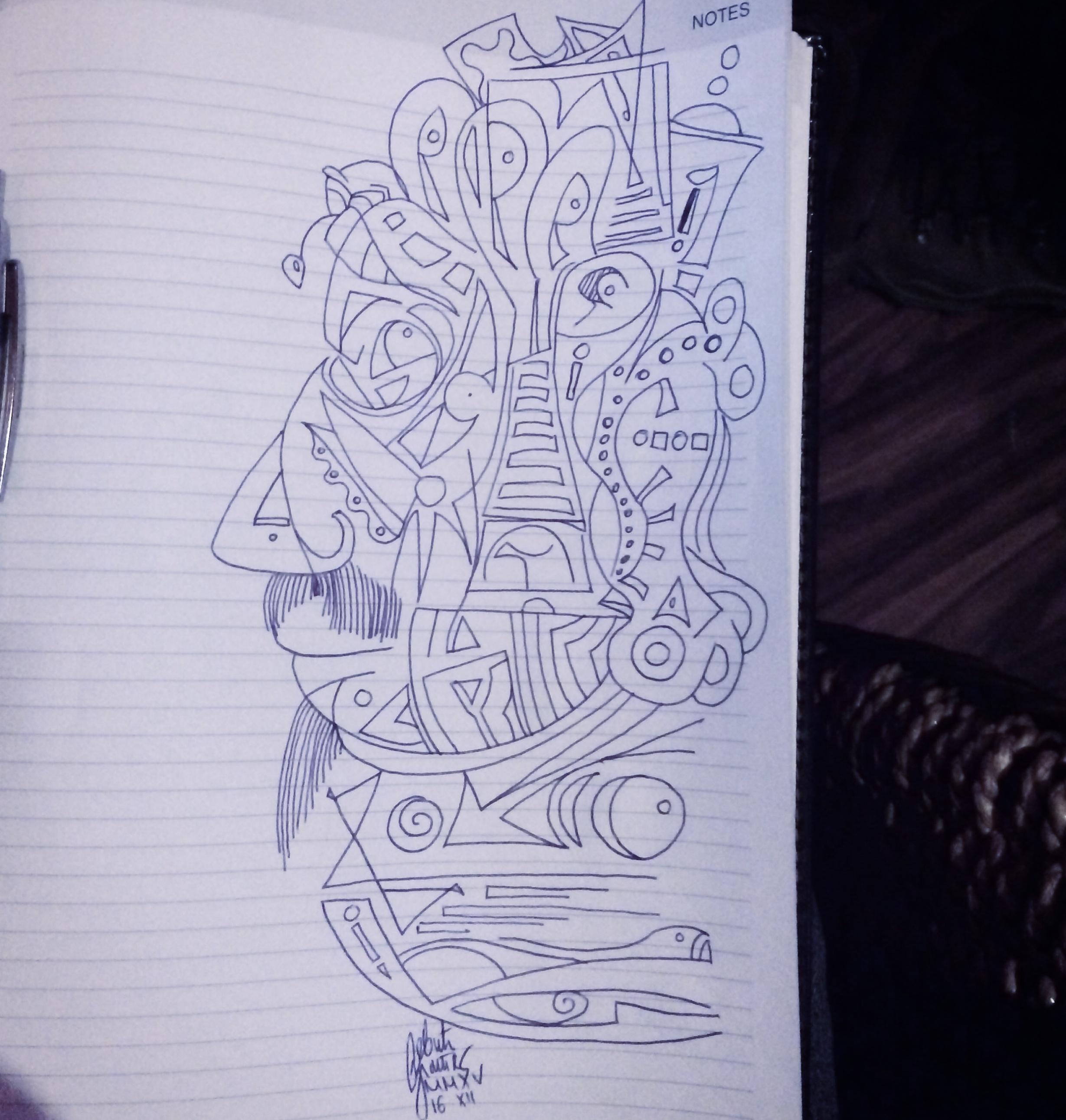 Morning doodle - 16. XII '15 - Takumar by zlajonja