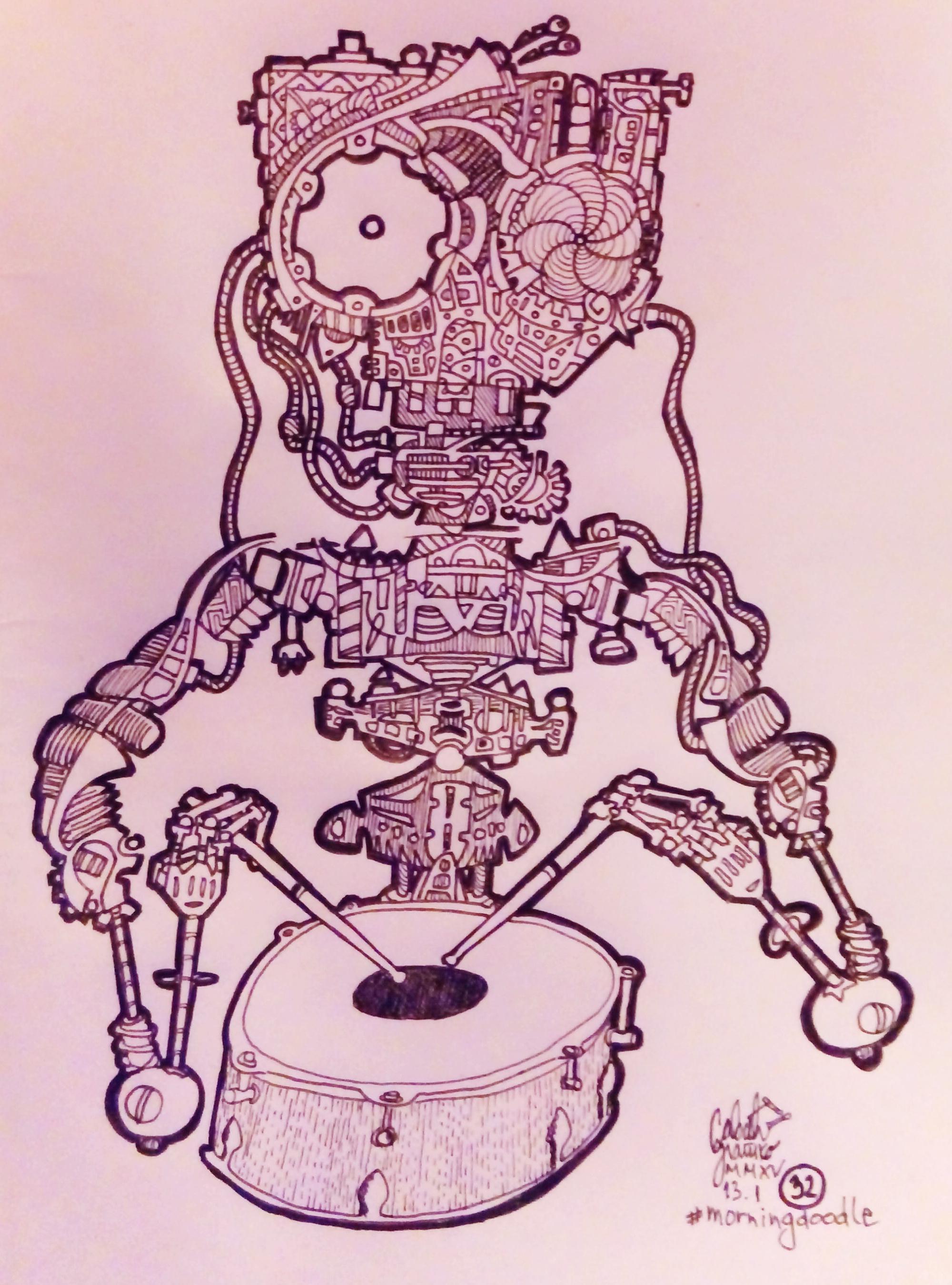The Drummer by zlajonja