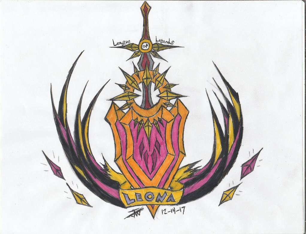 League Of Legends- Leona fan Art