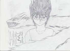 Fan Art: Hiei (Yu Yu Hakusho)