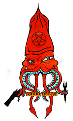 Squid Teeth Logo