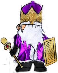 Castle Crasher- King {Fan Art}