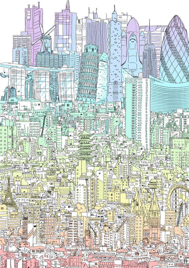 Cityscape by Vossen-Art