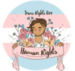 Inktober 29 - Trans Rights are Human Rights