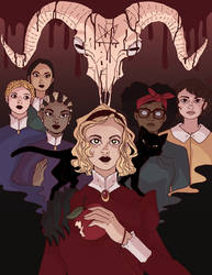 Chilling Adventures of Sabrina by Vossen-Art