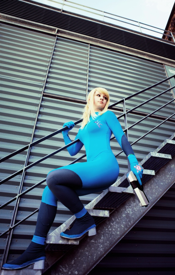 Metroid: Zero Suit Samus 1 by HayleyElise