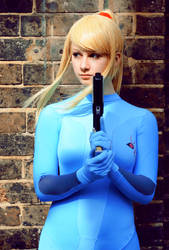 Metroid: Zero Suit Samus 6 by HayleyElise