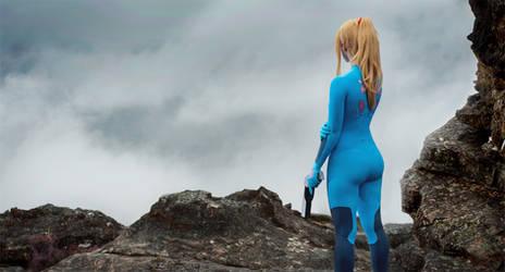 Zero Mission: Zero Suit Samus by HayleyElise