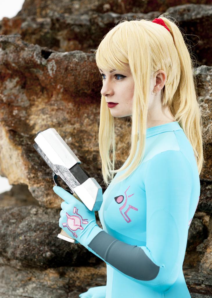 Zero Mission: Zero Suit 2 by HayleyElise
