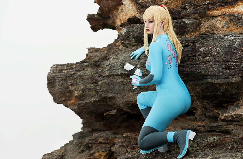 Zero Mission: Zero Suit Samus 5 by HayleyElise