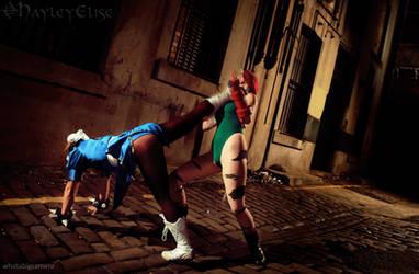 Street Fighter: Vs Chun Li - FIGHT! by HayleyElise