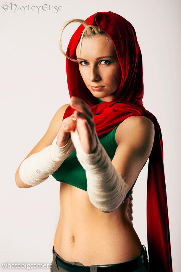 Street Fighter: Cammy Alt 4 by HayleyElise