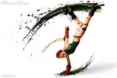 Street Fighter: Ink 6 by HayleyElise