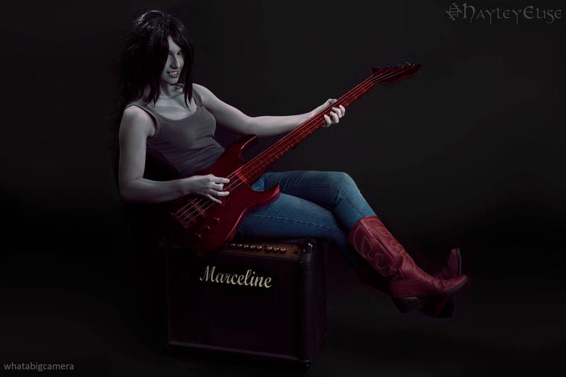 Adventure Time: Marceline the Vampire Queen 4 by HayleyElise