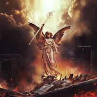 Angel of Destruction by herryC