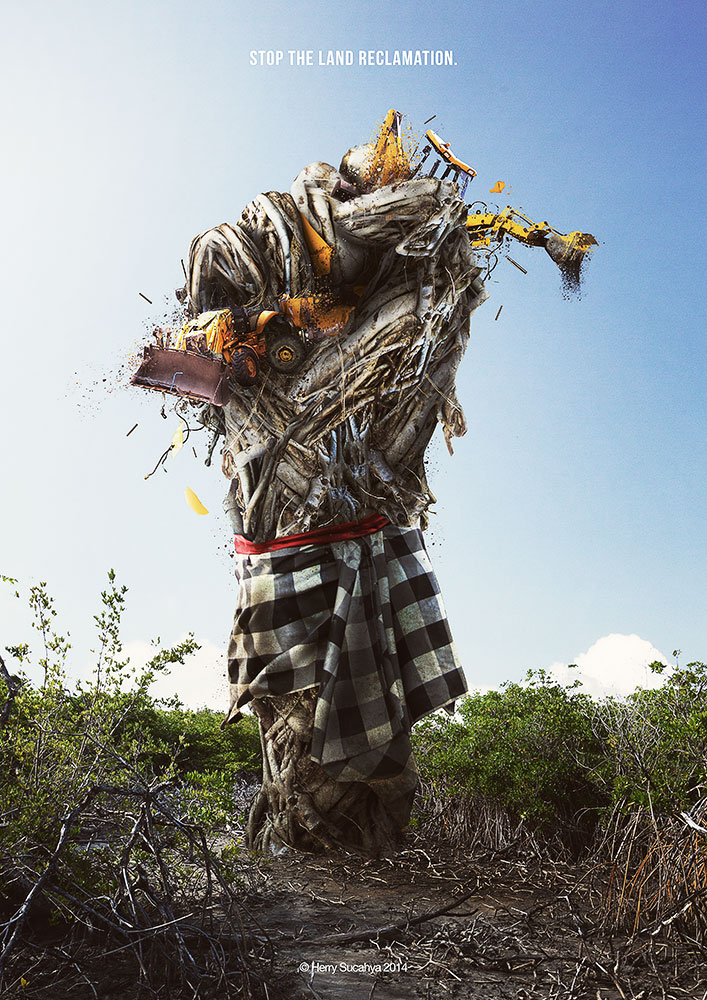 Bali Tolak Reklamasi 2014 by herryC