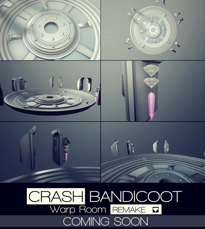 crash bandicoot warp room remake banner by xxnaotenxx on deviantart. Black Bedroom Furniture Sets. Home Design Ideas