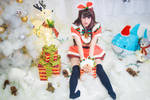 Vtuber Kizuna AI cosplay