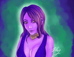Reanon in Purple