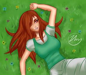 Auburn Haired Girl