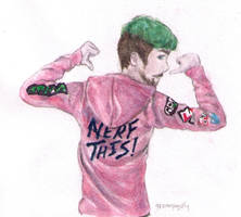 Jacksepticeye: Nerf This! by greenpigsfly