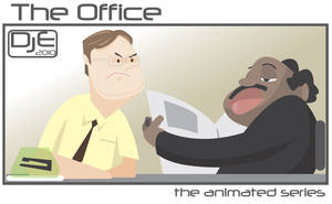 The Office Dwight and Stanley by johnnymartini